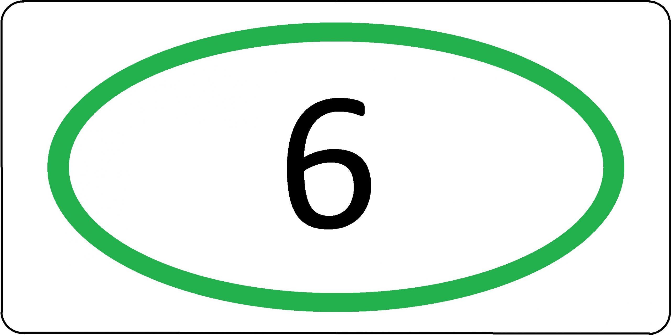 Экологический класс транспортного средства №6